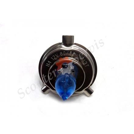 Лампа ближнє-дальнє блакитне світло цоколь H4,12V-60 / 55W