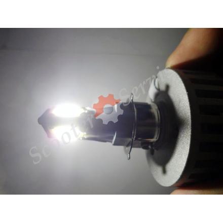 Лампа LED, 3 світлодіоди, ближнє, дальнє світло, світлодіодна, універсальна