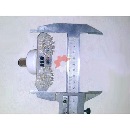 Лампа стоп-габарит світлодіодна спорт рейсинг (кола)