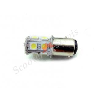 Лампа светодиодная, стоп, габарит, 10 светодиодов, в задний фонарь