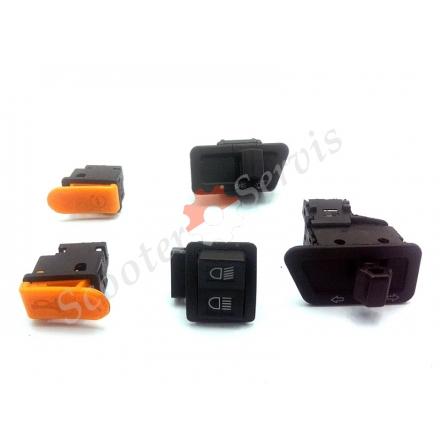 Набор кнопок включения электро оборудования тип Хонда Дио, Навигатор, Navigator