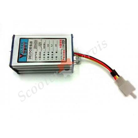 Перетворювач напруги АКБ з 36V, 48V, 60V, 64V, 72V в 12V, для електро-транспорту бортової мережі