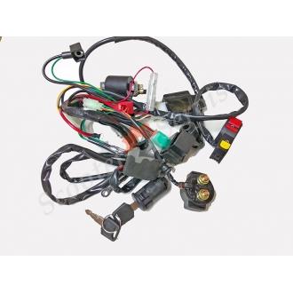Проводка электрическая, полный комплект, квадроцикла, ATV, мотоцикла