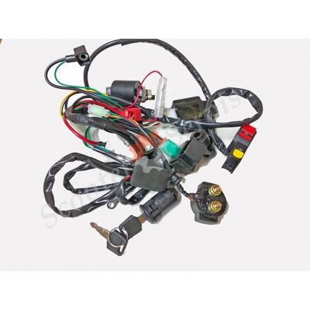 Проводка електрична, повний комплект, квадроцикла, ATV, мотоцикла