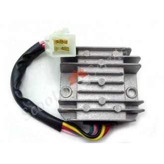 Регулятор напряжения GY6, китайские скутера, 125 кубов, 150 кубов, 5 проводов, (малая фишка)