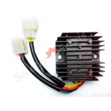 Регулятор напряжения 150 кубов- 250 кубов, мотоцикл, трицикл, трайк, 6 проводов