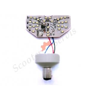Светодиодная лампа стоп габарит, бабочка