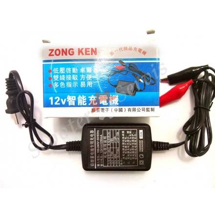 Зарядное устройство 12V, для АКБ (портативное)