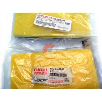 Фільтр повітряний, елемент, поролон, 4GU-E4451-00, мотоцикл YAMAHA 150 кубів, JYM, SRZ150, JIANSHE JS150-3 R6