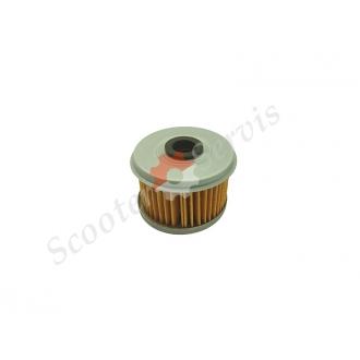 Масляний фільтр модель HF113, діаметр 50мм, висота 38мм, Honda 15412-HM5-010, 15412-HM5-A10