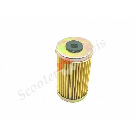 Масляний фільтр модель HF169, Daelim 15412-BA1-0000, 15412-KN6-0096, діаметр 38мм, висота 67мм