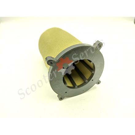 Повітряний фільтр, елемент китайського мотоцикла Zongshen 150/250, поролон з підставою