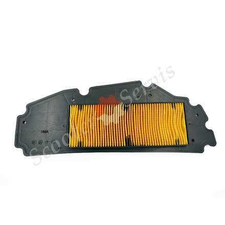 Воздушный фильтр, элемент бумажная гармошка с основание скутера круизер GTS300, SYM300, RV250, JOY0MAX 300