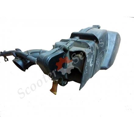 Корпус повітряного фільтра в зборі YAMAHA CYGNUS, XC125, AIRBOX, японський оригінал, 5TY-E4412-00, 5TY-4411-00