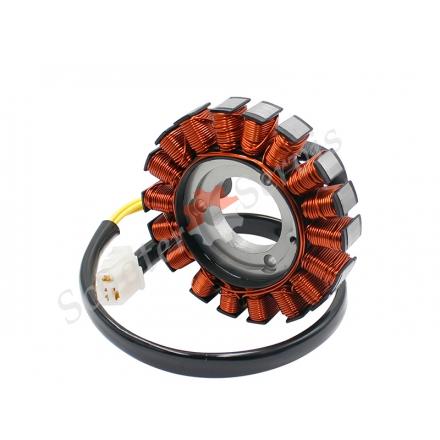 Генератор, статор мотоцикла Suzuki GSX-R600, GSX-R750 (06-17г.в.)