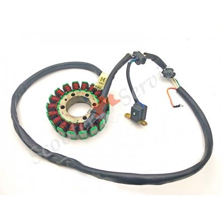 Генератор статор мотоцикла Yamaha Virago, XV250, 3DM-81410-00-00