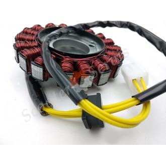 Генератор, статор мотоцикла Suzuki Bandit GSXR 600/750, тип двигуна К6, К8, 06-10 року випуску