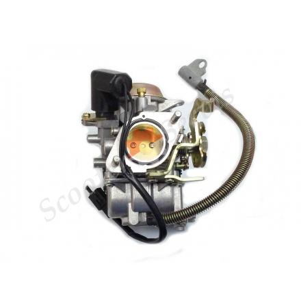 Карбюратор 250-300 куб на максі скутера Ямаха Маджесті, YP-250 Yamaha Majesty 250, Лакі 260, Бос 250, квадроцикл