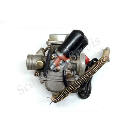 Карбюратор GY6 125 кубів, двигун KF 26, стандарт Японія, клас А