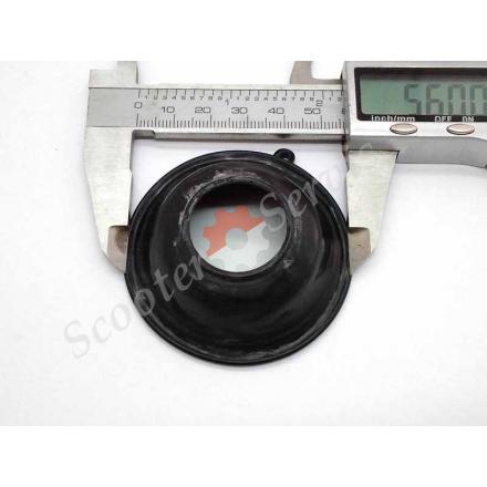 Мембрана карбюратора діаметр 55-60 мм * 21мм