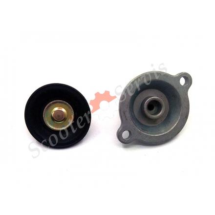 Мембрана з кришкою, карбюратора GY6 125-150 кубів