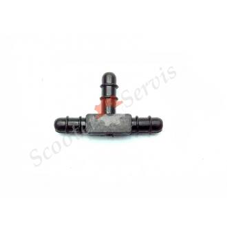 Тройник вакуумных трубок карбюратора двигатель GY6 125-150cc