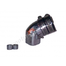 Впускной патрубок GY6 125-150 тюнинг, алюминий