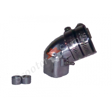 Впускний патрубок GY6 125-150 тюнінг, алюміній