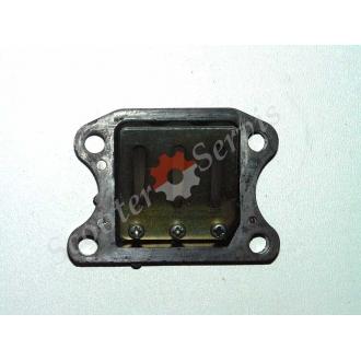 Лепестковый клапан Honda Dio, Tact, Хонда Дио AF-18, AF-24, AF-27, AF-28, Такт 24, оригинал Япония