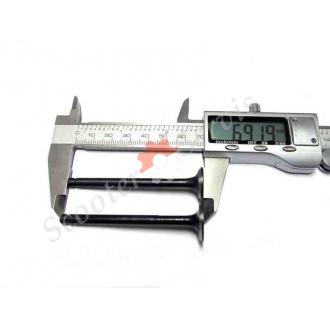 Клапана для мототехніки, довжина 69 мм