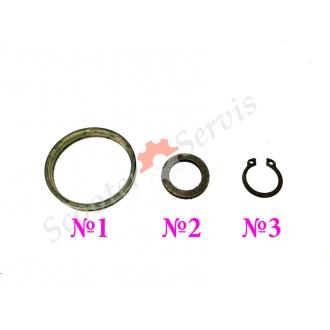 Шайба, стопорное кольцо, пластиковое кольцо, заводного механизма, на скутер Honda Dio, Tact 24, Хонда Дио, Такт, AF-18, AF-28, AF-27, японский оригинал