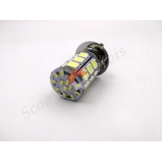 Лампа фары передняя диодная P15D 12V 35/35W, один ус, 3...