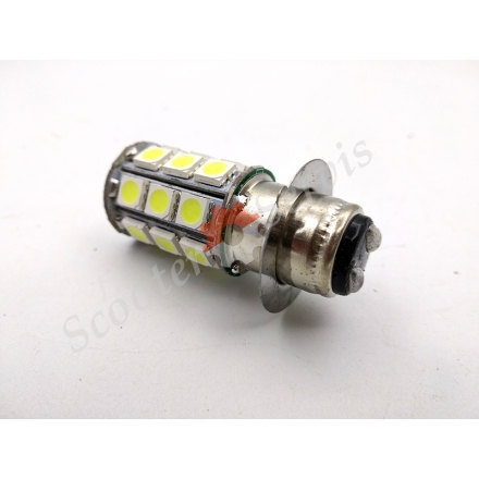 Лампа фари передня діодний P15D 12V 35 / 35W, один вус, 33 діода
