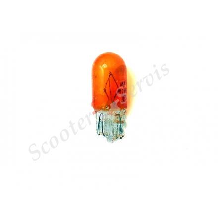 Лампа без цокольна 12V 5W, помаранчева, для поворотів