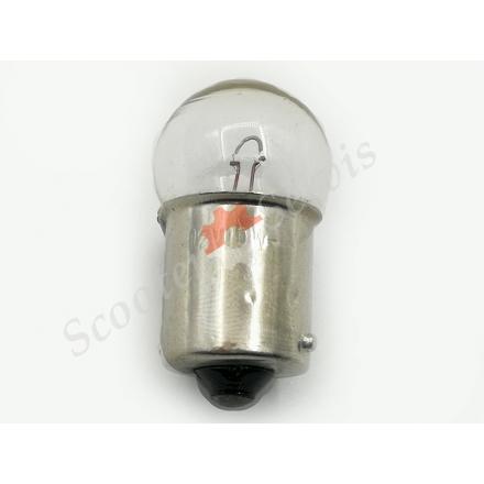 Лампа цокольная 12V 10W габарит, поворот один контакт