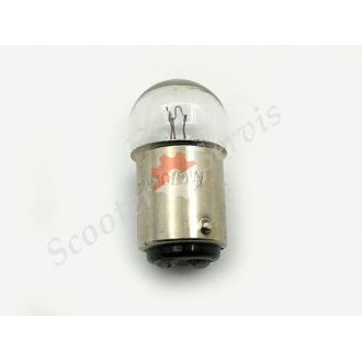 Лампа цокольная 12V 5W габарит, поворот двух контактная