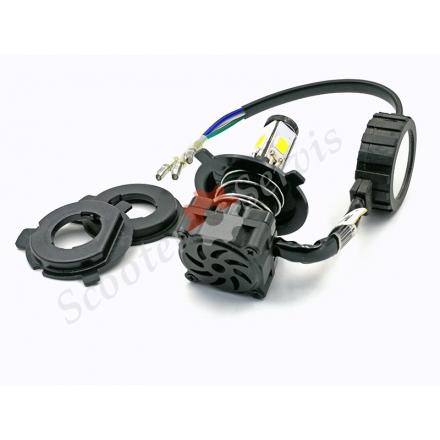 Лампа LED, 4 светодиода, ближний-дальний свет, светодиодная, универсальная