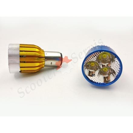 Лампа LED круглая 3000LM 8-80V BA20