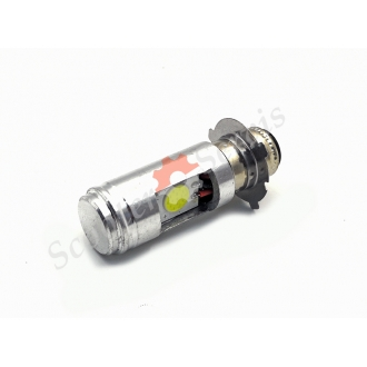 Лампа LED светодиодная 9-100V 8-16W ближний-дальний свет, 3 уса
