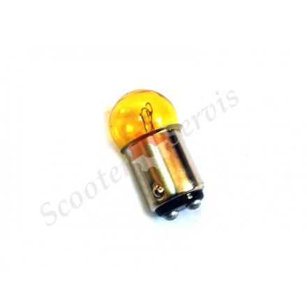 Лампа поворота / габарита, желтая,  12V 10W / 5W