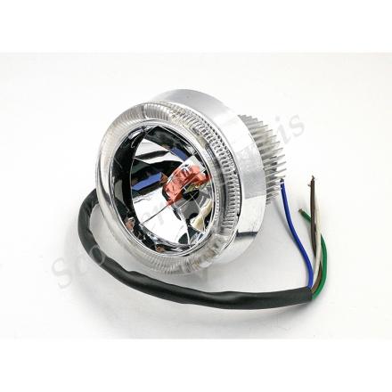 Лампа XYL Led светодиодная головного света, ближний-дальний, габарит 12V диаметр 85мм