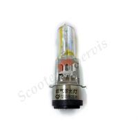 Лампа желтая, зеркальная, супер яркая, 12V 35/35W, два уса, ближний, дальний свет, цоколь BA20D