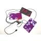 Пластины для одежды с электро подогревом, 3 нагревательных элемента с регулятором температуры нагрева, питание USB