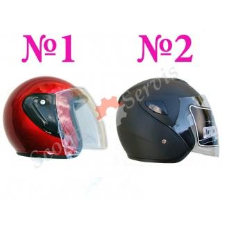 Шлем полуоткрытый, полу-лицевик, скутер, мото