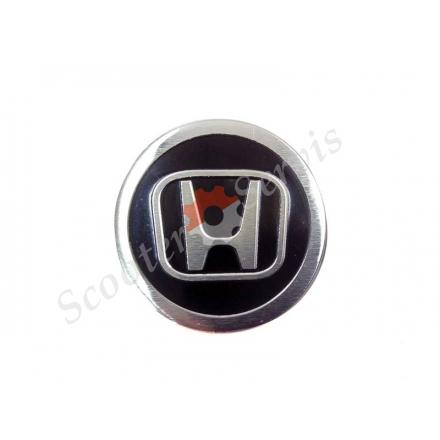 Логотип Хонда, Honda, алюмінієвий, об'ємний, круглий