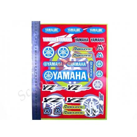 Набір наклейок Ямаха-Yamalube