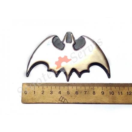 """Наклейка """"Batman"""" хромированный пластик"""