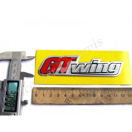 Наклейка GTwing алюминиевая объемная