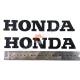 Наклейка Хонда, карбон