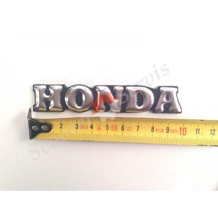 """Наклейка """"Honda"""" объёмная хром 10 см."""